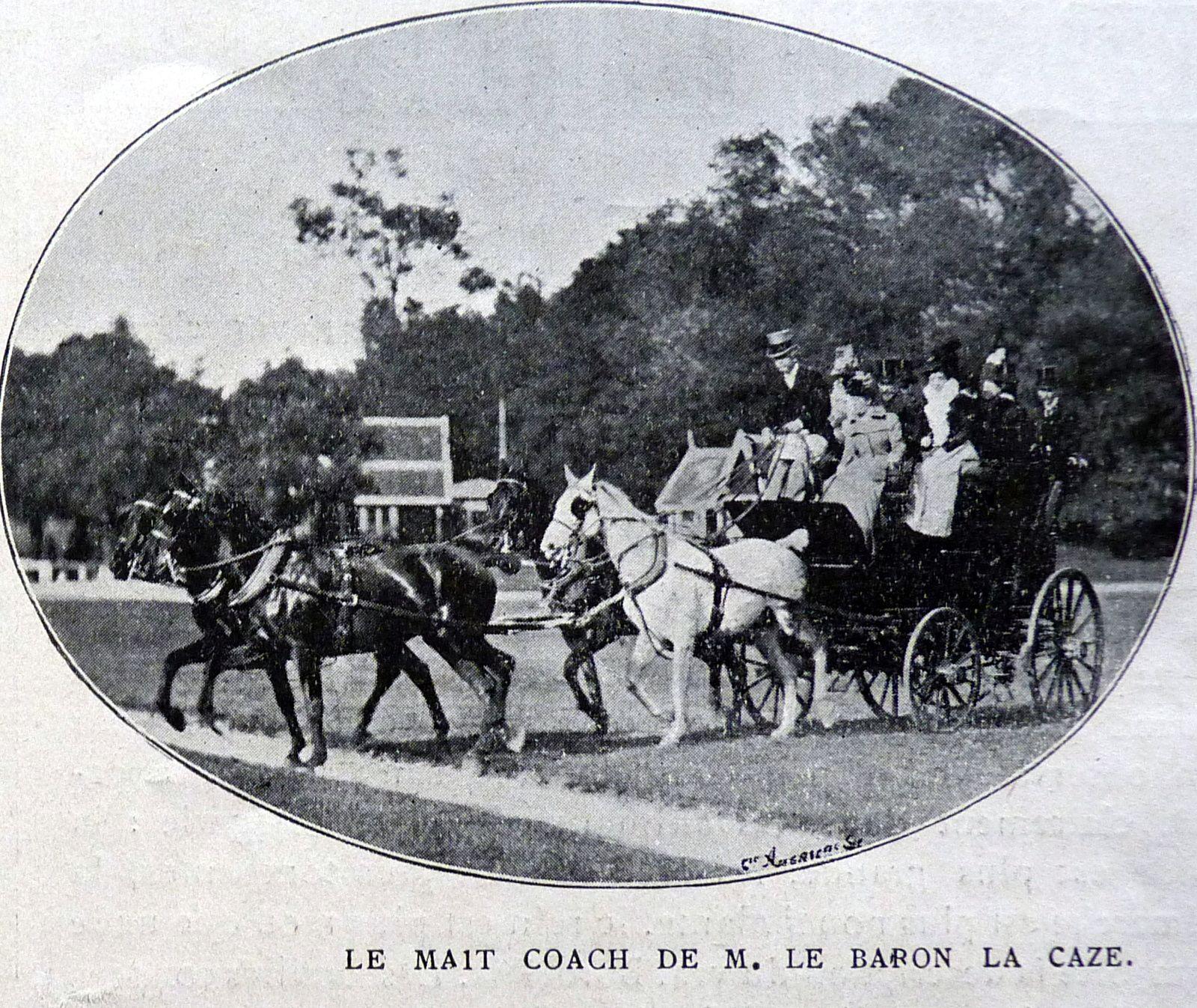 1900: un des derniers sursauts du coaching!