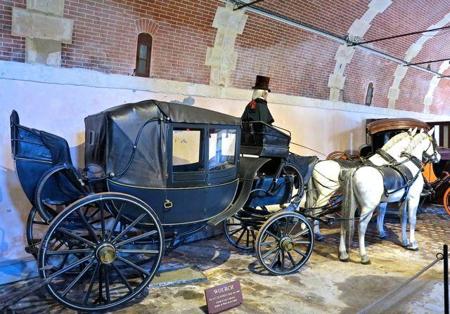 Wourch par A.F Clochez 1840 à 2 ou 4 chevaux menés en poste ou en guides.