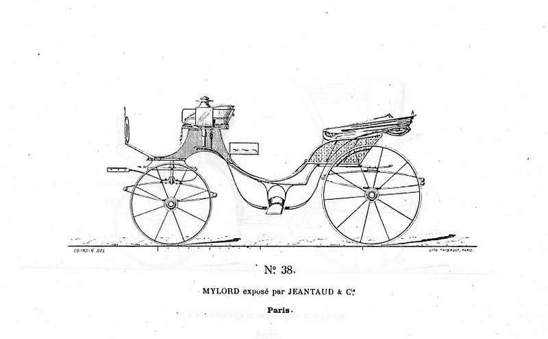 Voitures de l' exposition 1878 à Paris 2) suspension simple
