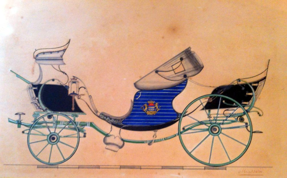 Victoria huit ressorts Moussard 1849
