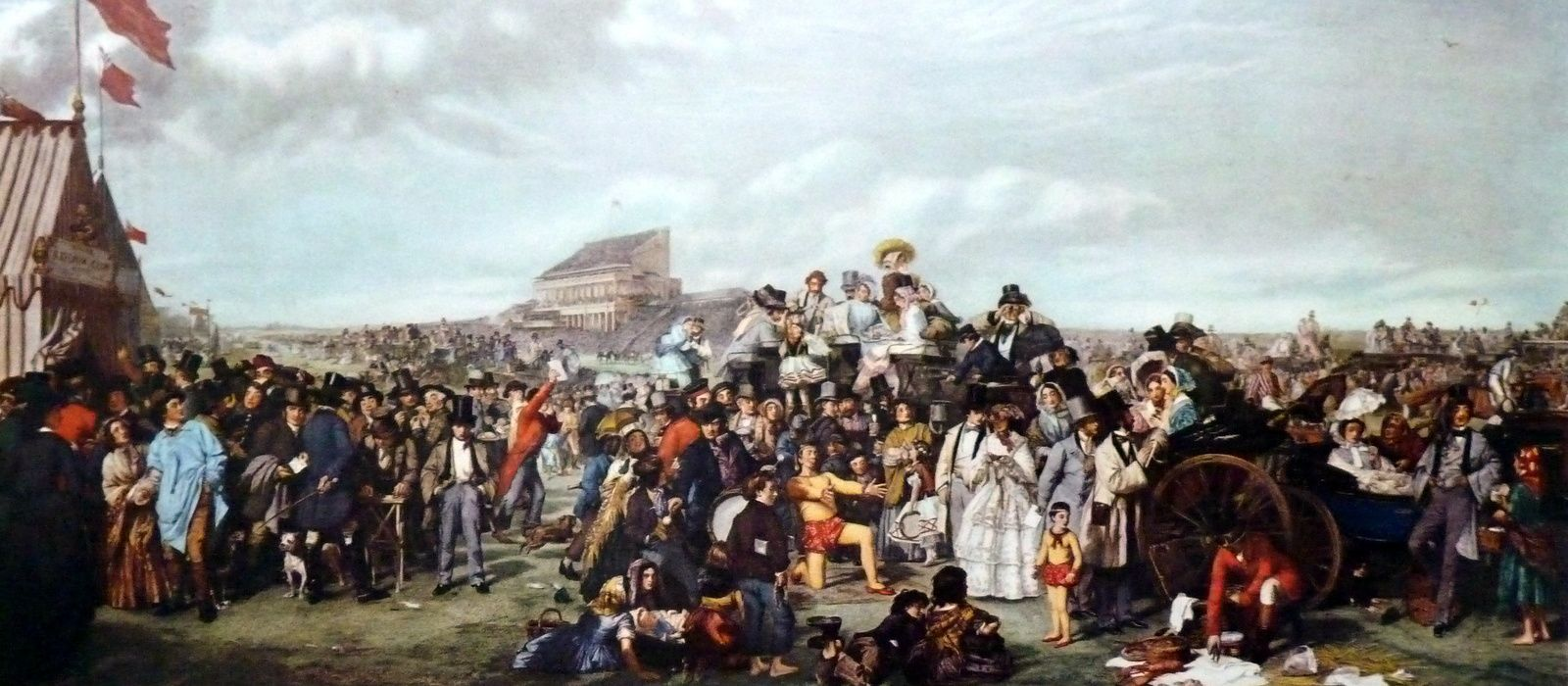 The derby day par Frith 1859
