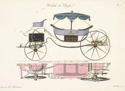 Duchesne : Calèche de chasse, 1808