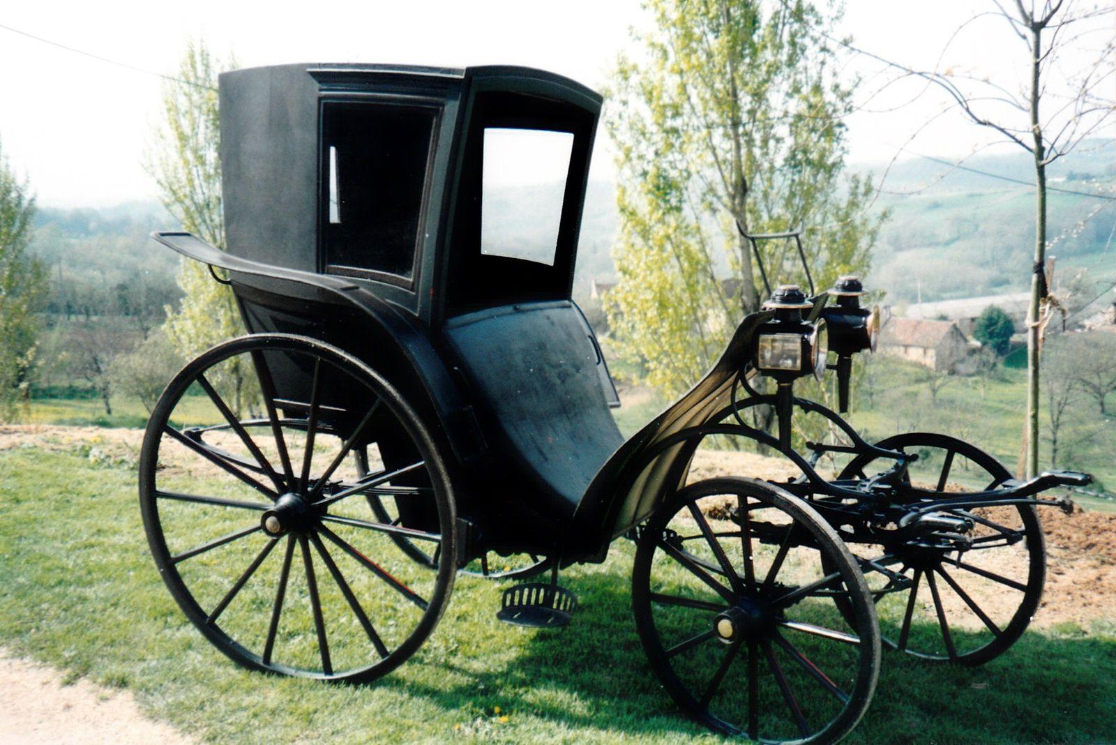 Duc-cab n° 1217, par Kellner à Paris. Vue générale