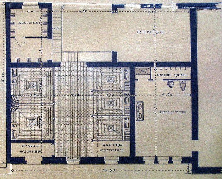 Maison Auriac à Agen (Archives Lot et Garonne)