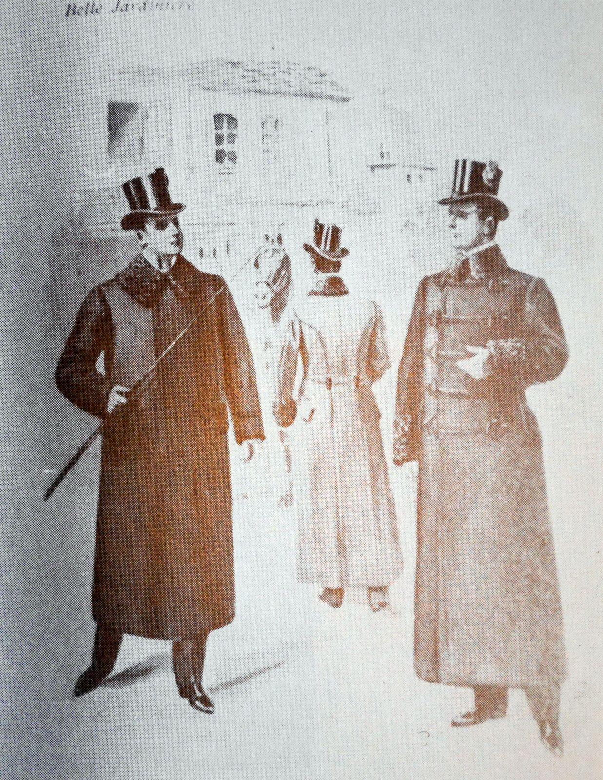Différents types de manteaux proposés par La belle jardinière.