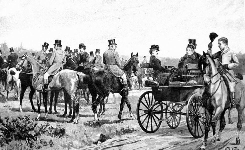 Description des écuries de luxe  de la fin du XIX° siècle.3/Fin