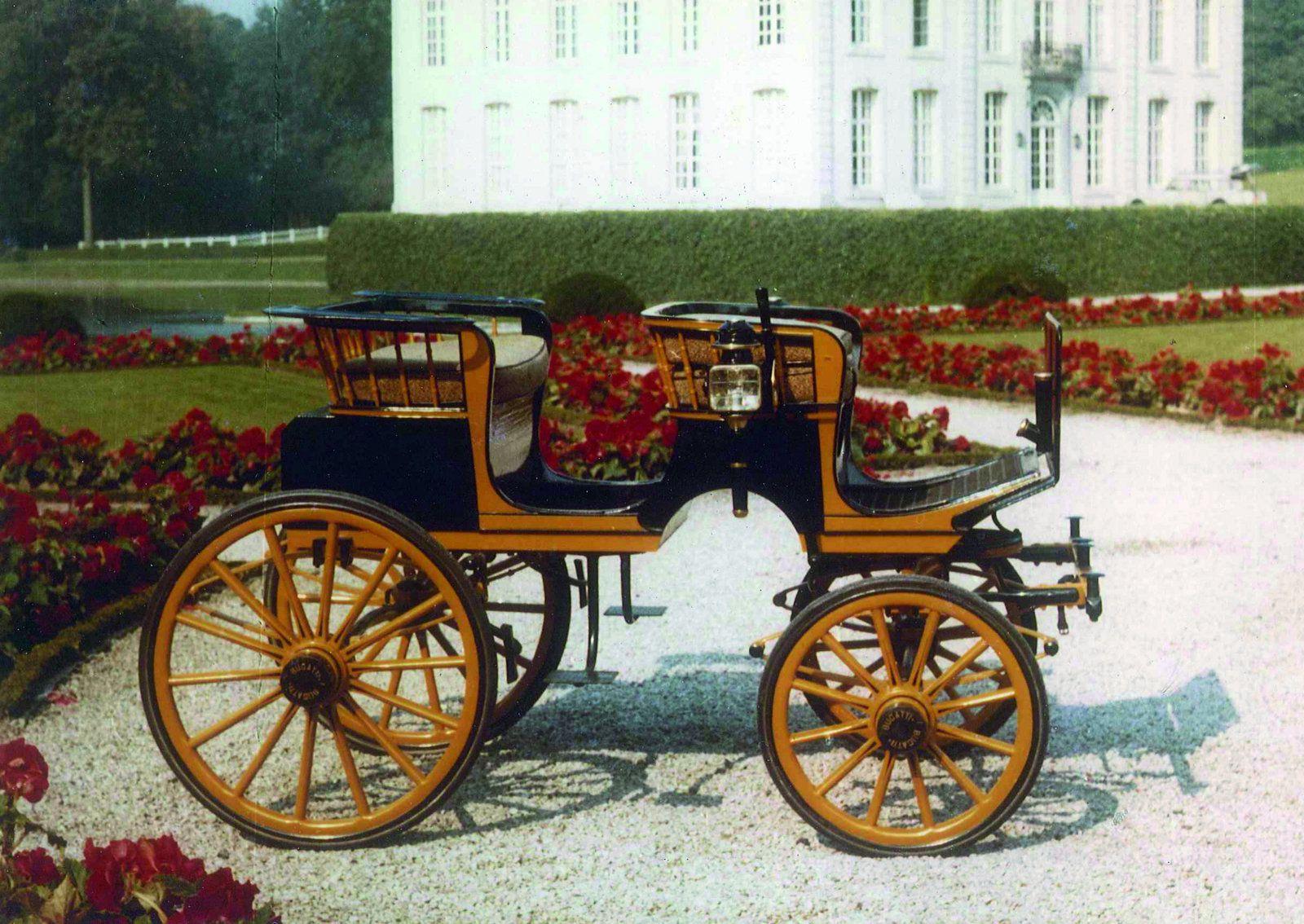 Poney phaéton Bugatti