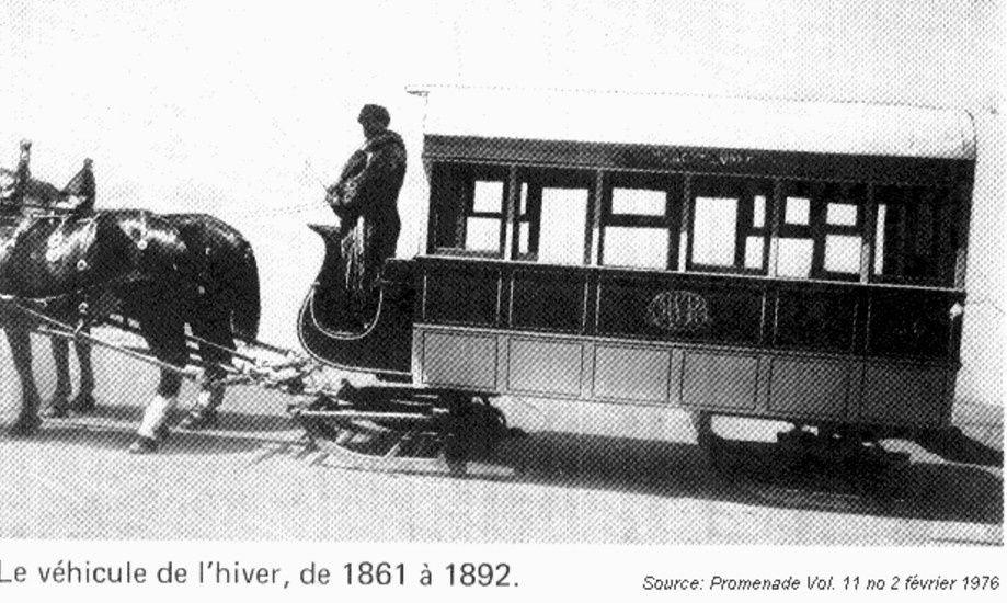 Techniques de déneigement et circulation au XIX° siècle.