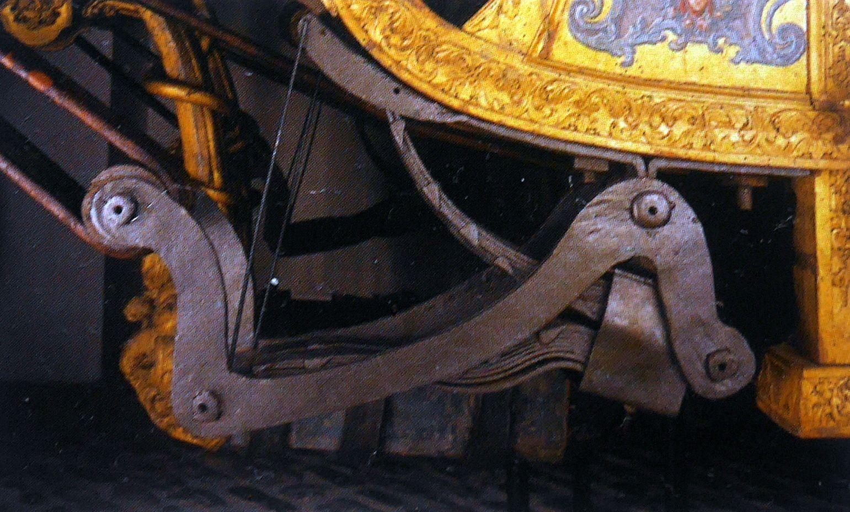 Main de ressort de carrosse à deux coins, du prince Gunther von Schwarzburg-Sondershausen
