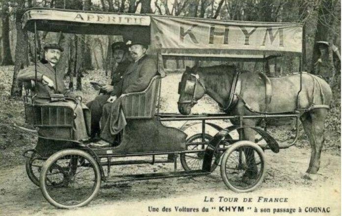"""L'intégration du cheval dans la voiture; """" rêve ou cauchemar ?""""... qui perdure!"""