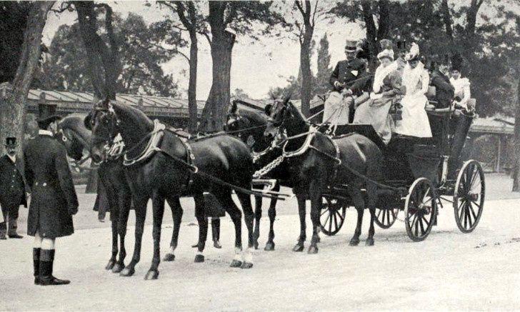 """Monsieur le comte de Beauregard """"Les Guides"""" (journée des drags 1898)"""