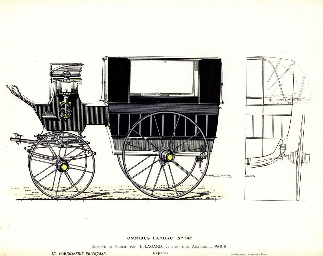 Wagonnette 2: recouvrable par capote; Lonsdale, Portland, Omnibus landau,...