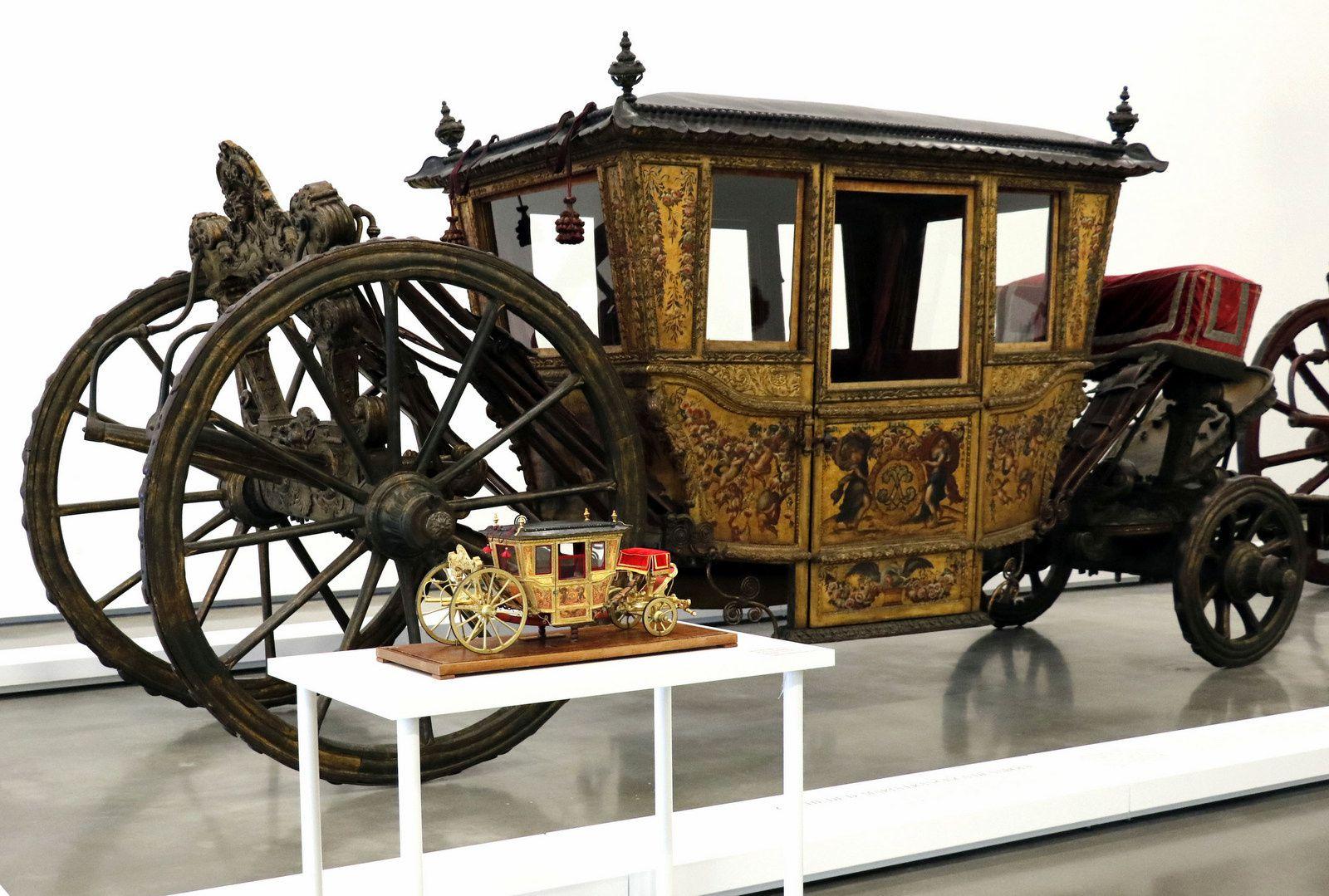 Carrosse de la reine Marie Françoise XVII°