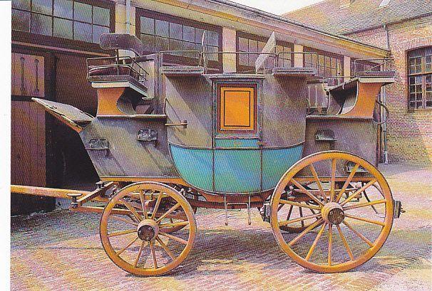 Road-coach par Holland & Holland à Londres, classé M.H. (Haras national du Pin)