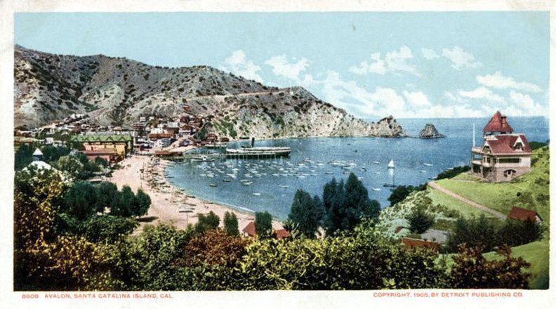 En stage coach dans l'île de Catalina