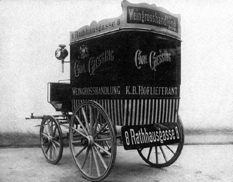 Catalogue de voitures de commerce; Mayer à Munich