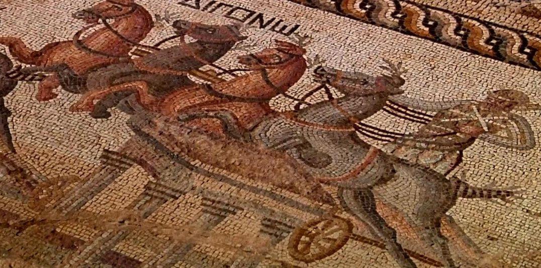 Mosaique découverte à Chypre