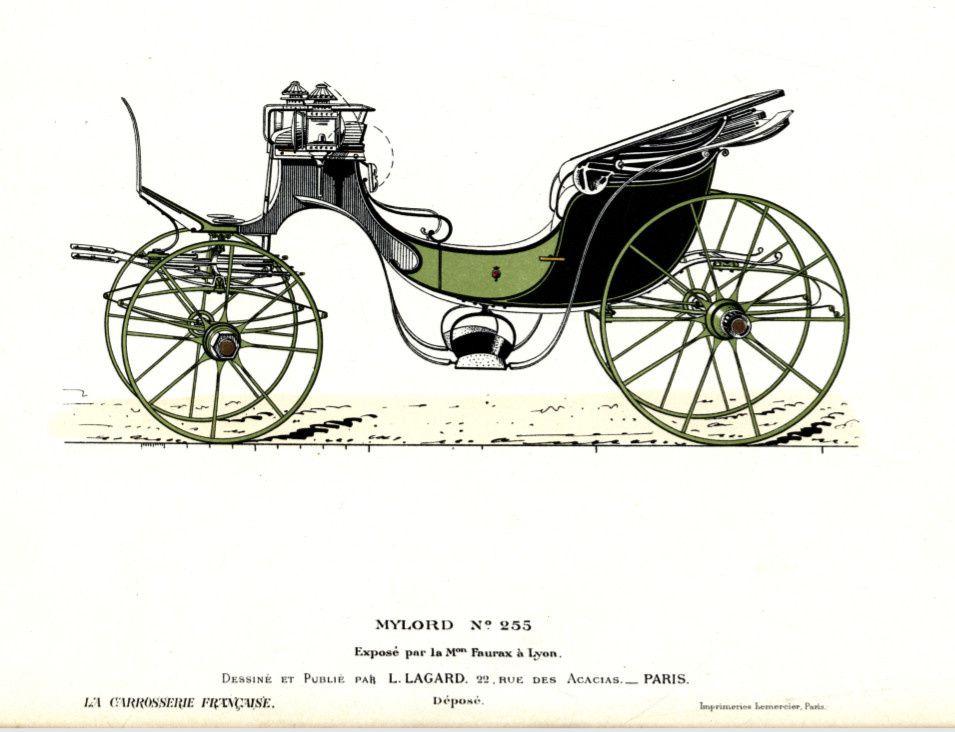 Quelques informations sur la carrosserie Faurax à Lyon.
