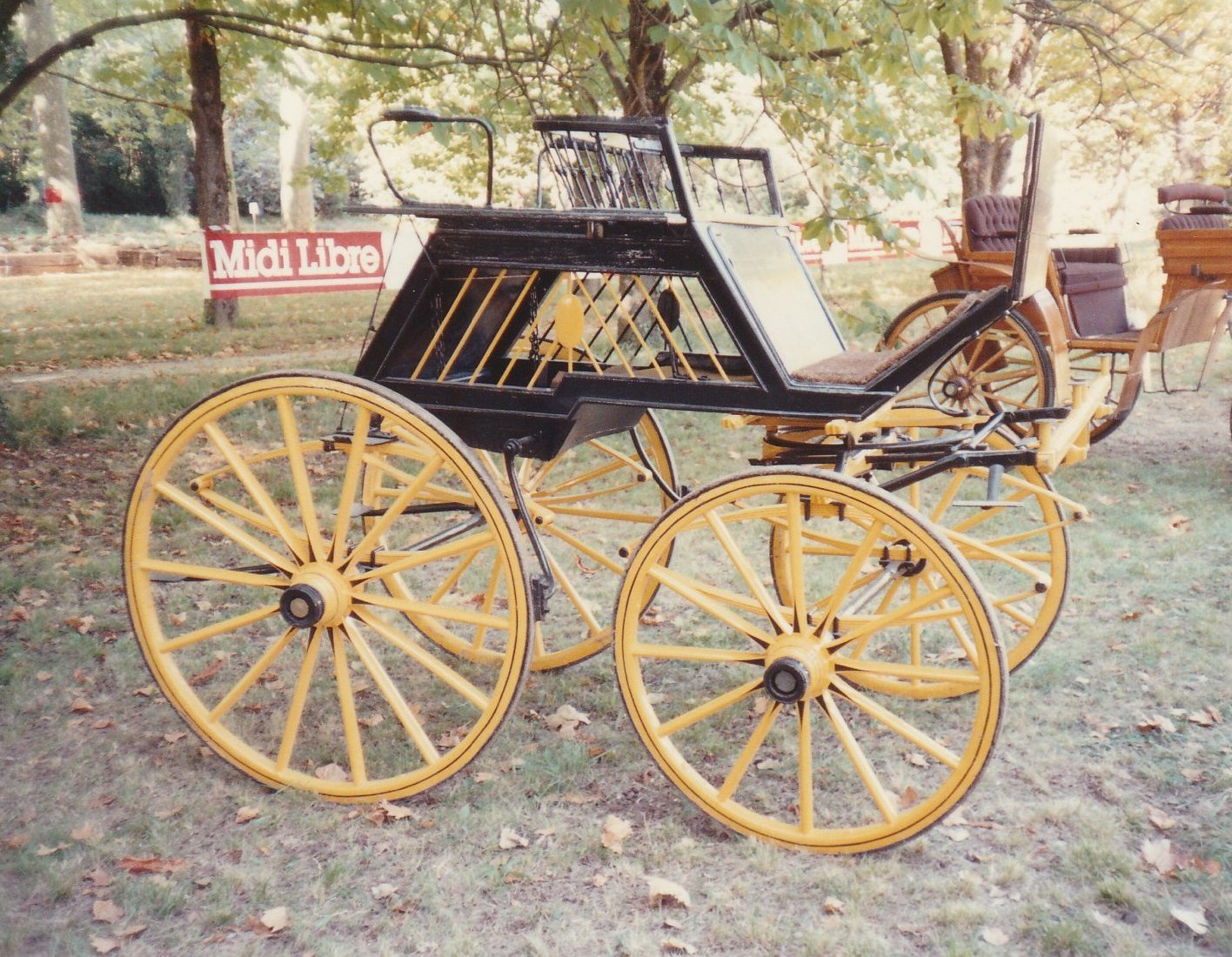 Barreaux. Dog-cart, par Witgham à Londres (France, collection privée)