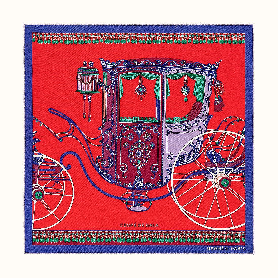 Wlodek Kaminski : Coupé de gala, d'après le dessin de Louis Lagard. « Carré » Hermès.