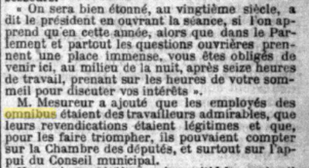 Texte d'accueil du président d'honneur retransmis par Le petit parisien.