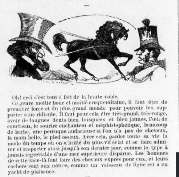 "Le jeu ""Tel maître tel cheval"" en 1876"