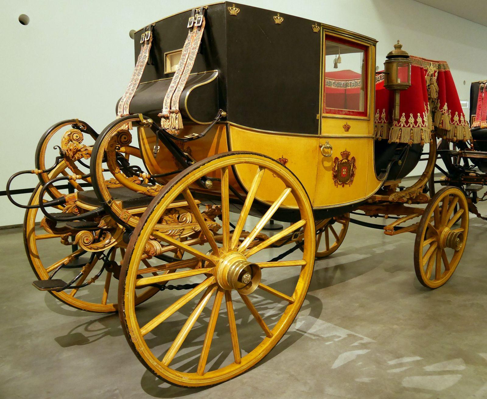 Coupé de gala de Maria II du portugal (Musée des carrosses de Lisbonne)