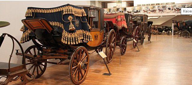 Film sur la visite complète du Musée des carrosses de Vienne.