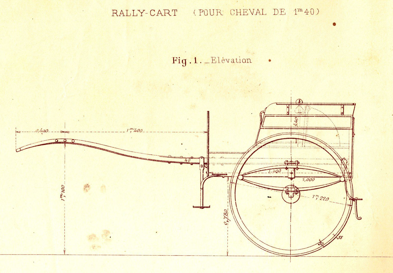 "Carrosserie moderne 3; ""Rally cart"""