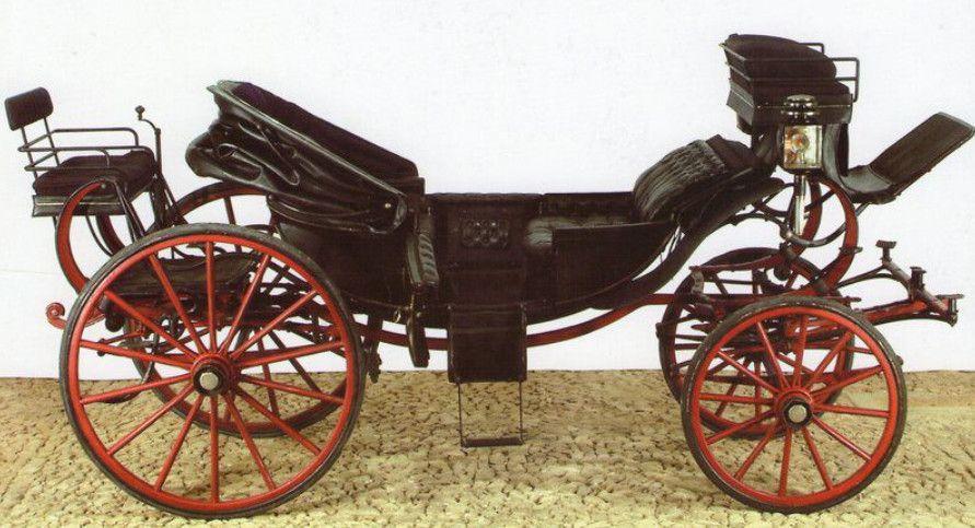 calèche Mühlbacher conservée au musée de Lisbonne.