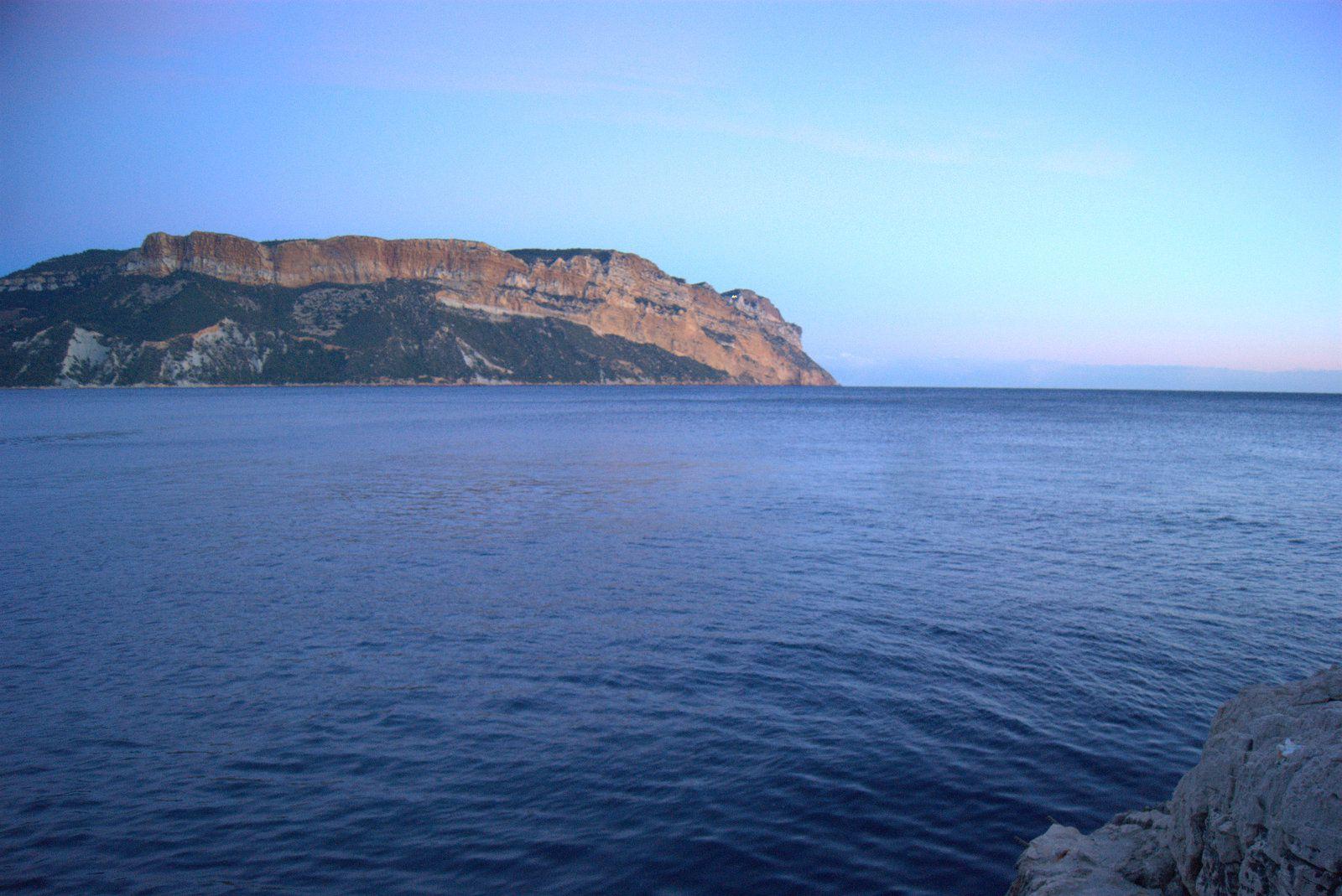 La mer et moi.