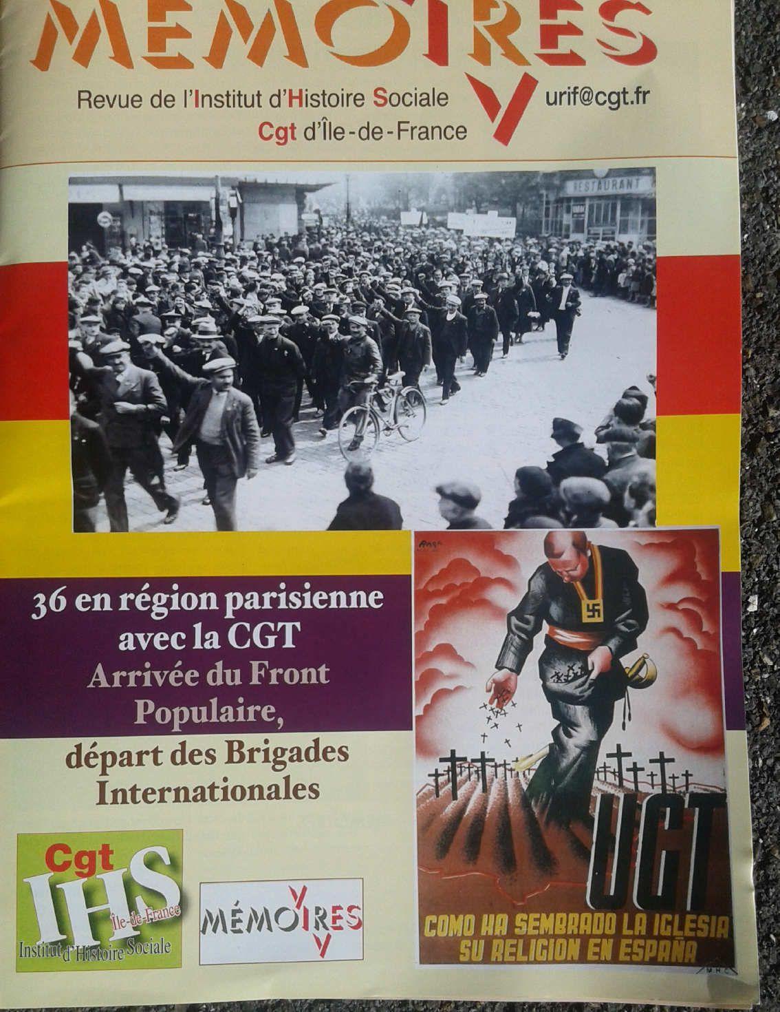 Octobre 1936: les Brigades internationales pour défendre la République espagnole