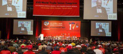 """17ème congrès de la FSM à Durban : """"Vive la lutte des classes et le syndicalisme de classe"""""""