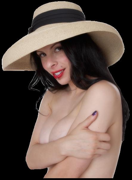 Tubes PNG femmes sensuelles seins nus
