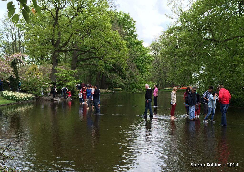 et jeux d'eau apprécié de tous les visiteurs !