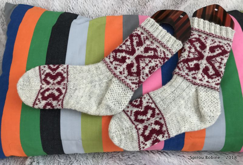 Heahmund Socks en Drops Fabel, janvier 2018