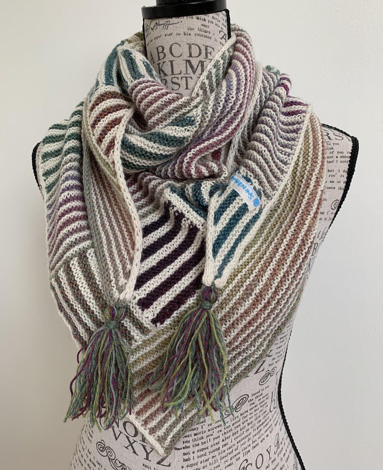 Les charmes du tricot modulaire
