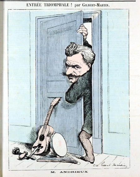Quand le père d'Aragon passionnait la caricature, par Daniel Dugne