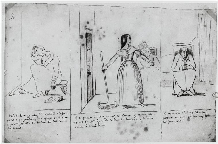 Rubrique à brac : « Alfred de Musset, auteur d'une bande dessinée », par Daniel Dugne