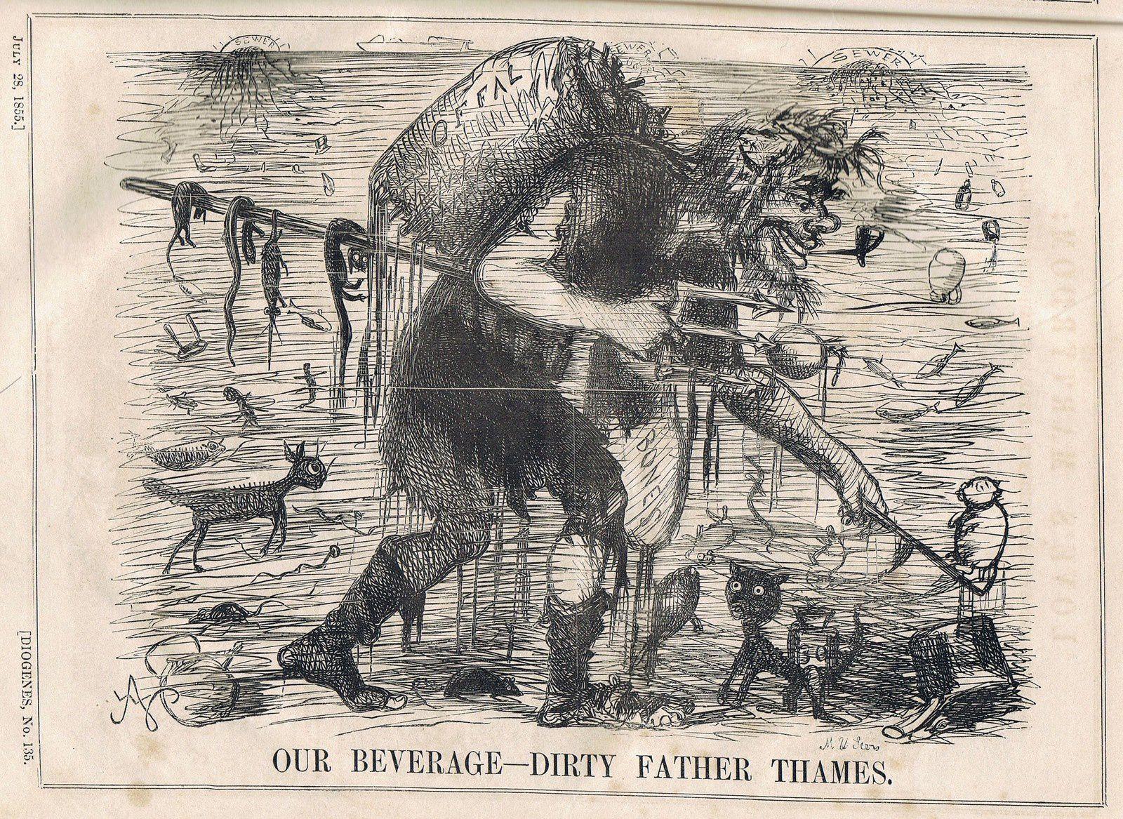 """""""Diogenes (1853-1855), un journal satirique anglais qui manquait de punch ?"""", par Daniel Dugne"""