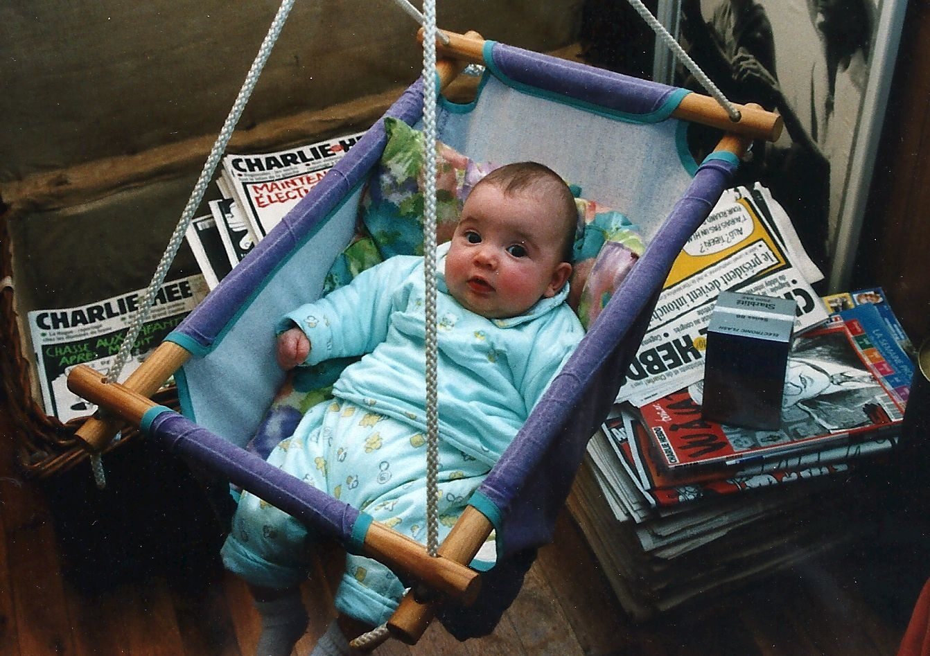 Ma fille en 1999