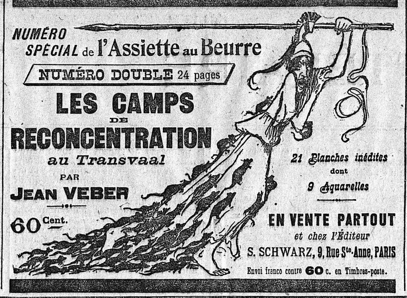 """""""L'impudique Albion"""" de Jean Veber : un dessin censuré ?"""