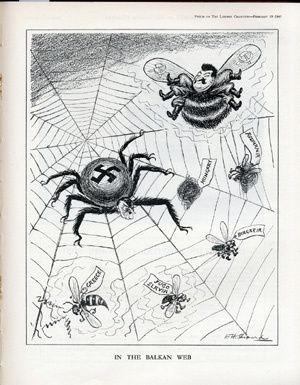 L'araignée antisémite (à propos d'un dessin de Bernard Bouton)