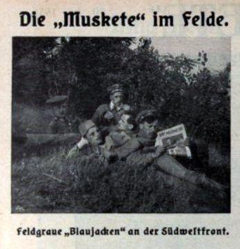 """""""Die Muskete"""" ou l'art de la mise en abyme, par Daniel Dugne"""