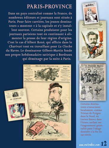 Le dessinateur de presse, de Daumier à Charlie : exposition itinérante à imprimer