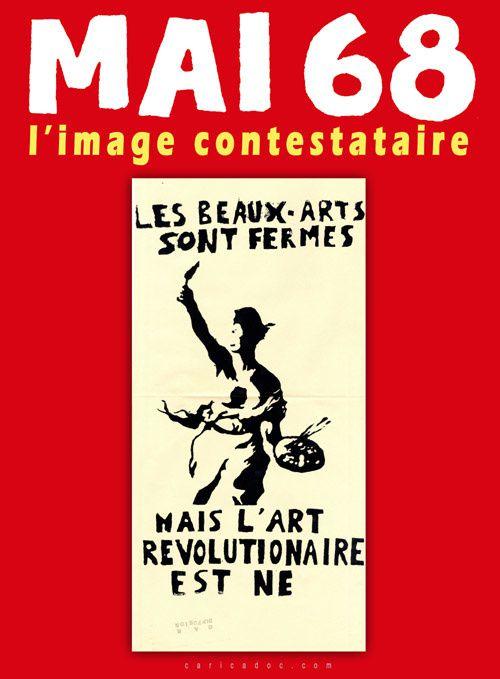 MAI 68, L'IMAGE CONTESTATAIRE (nouvelle version), exposition itinérante à louer / imprimer