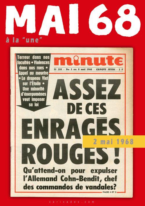 MAI 68 A LA UNE, exposition itinérante à louer  / imprimer