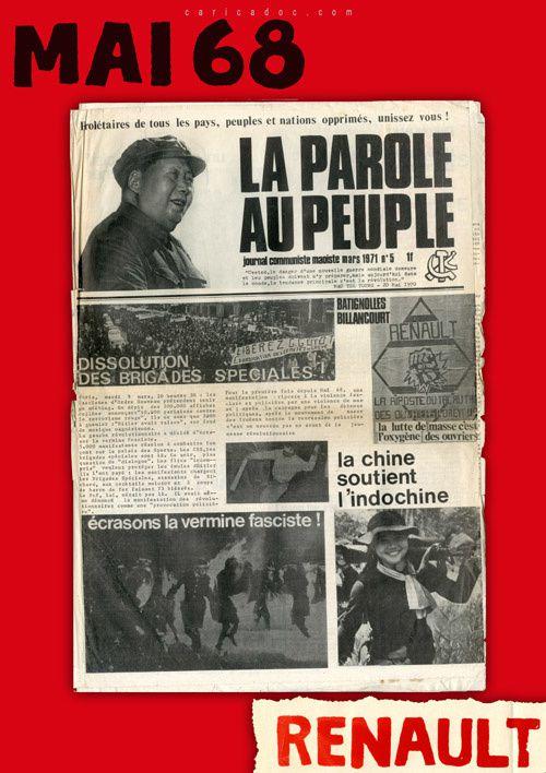 Renault en mai 68 : une forteresse ouvrière dans la grève / Exposition itinérante à louer