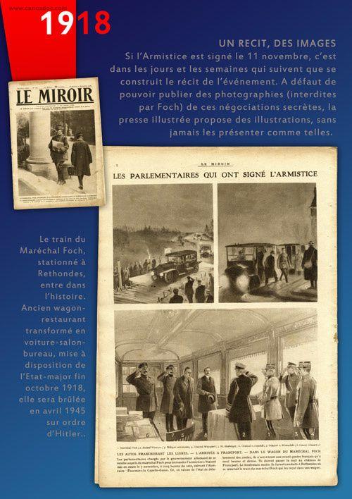 """""""NOVEMBRE 1918, l'armistice !"""" : exposition itinérante à louer / imprimer"""