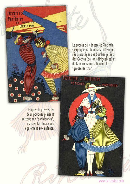 1918, Nénette et Rintintin, une exposition itinérante à louer / imprimer